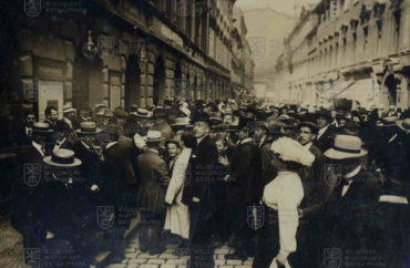 Mobilizace vroce 1914 vPraze