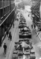 Invaze vojsk Varšavské smlouvy do Československa vsrpnu 1968