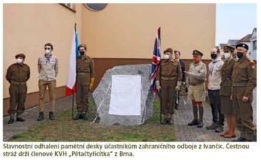 Ivančice, moravská obec smnoha hrdiny i oběťmi