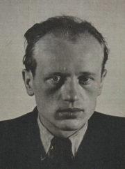 Karl Richard Richter na snímku zhotoveném MI5 po jeho zatčen