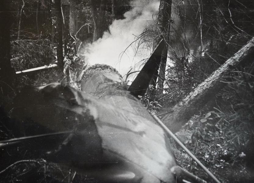 Nevyjasněná havárie vrtulníku během srpnové okupace 1968
