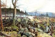 Protiútok německých vojáků a uherských zeměbranců v Sedmihradsku v pozdním létě 1916 (VHÚ Praha)