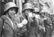 Dobře naladění bojovníci Freikorpsu