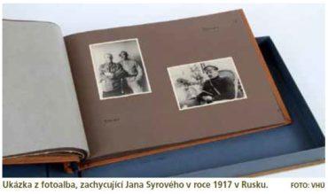 Fotoalbum darované generálu Janu Syrovému k jeho 50. narozeninám