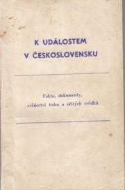 Bílá kniha s dezinformacemi o situaci v Československu (archiv autora)