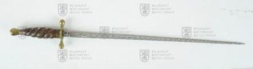 Dělostřelecký stilet, střední Evropa, kolem 1700