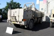 Vozidlo Tatra, které používala česká armáda v Afghánistánu, nyní ve sbírkách VHÚ