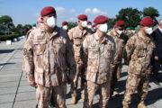 Vlevo náčelník Generálního štábu AČR, armádní generál Aleš Opata
