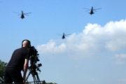 Průlet vrtulníků