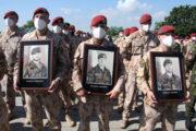 Připomínka 14 vojáků, příslušníků AČR, padlých v Afghánistánu