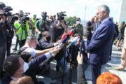 Ministr obrany Lubomír Metnar s novináři