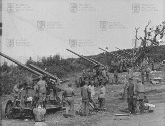 """Film """"Ostrá střelba dělostřelectva proti letadlům v Jugoslavii v r. 1933"""""""
