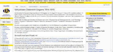 Databázové zpracování Seznamů ztrát c. a k. vojska v první světové válce – pomozme s dokončením jedinečného projektu!