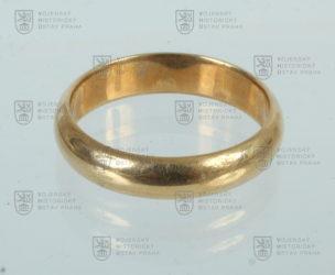 Snubní prsten gen. Aloise Eliáše