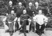 Postupimská konference v létě roku 1945