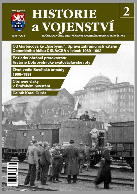 Nové číslo časopisu Historie a vojenství, letošní druhé