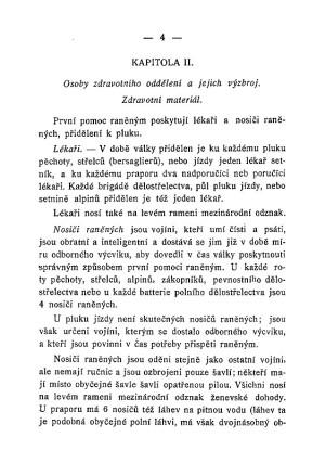 Příručka pro nosiče raněných. (Základní pravidla o první pomoci a dopravování raněných). Paříž : Československá národní rada, 1918